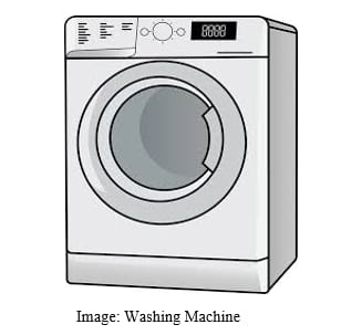 Washing machine as an example of open loop control system